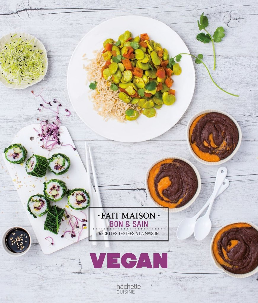 recettes vegan fait maison livre
