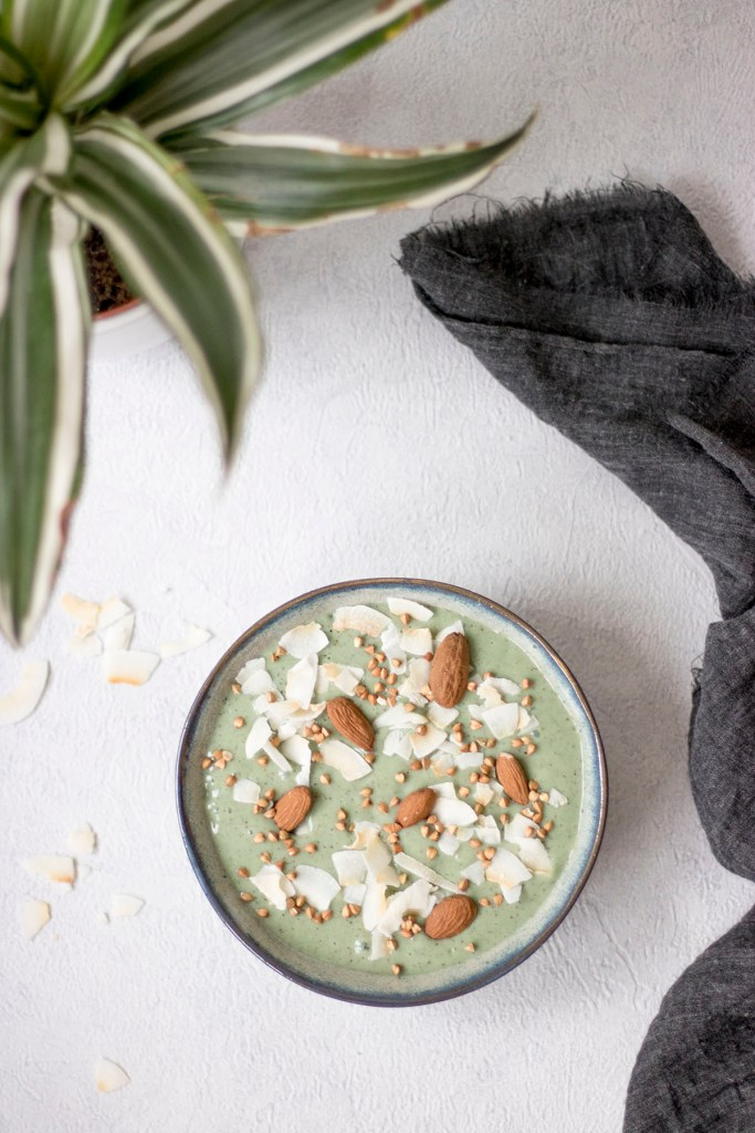 recette green smoothie kiwi vegan