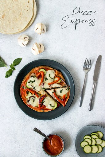 recette pizza express 10 minutes