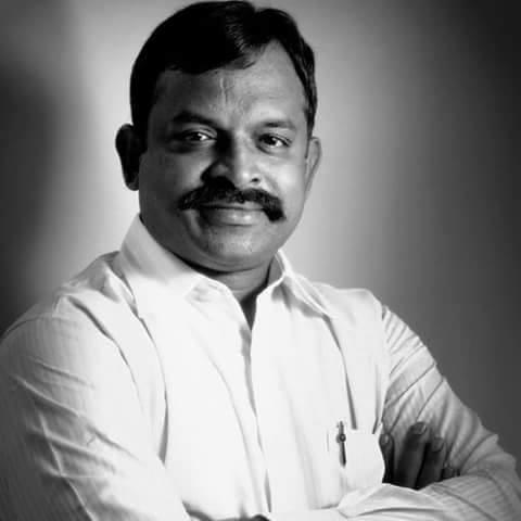 பிஜேபி செய்தித் தொடர்பாளர் கல்யாணராமன்.