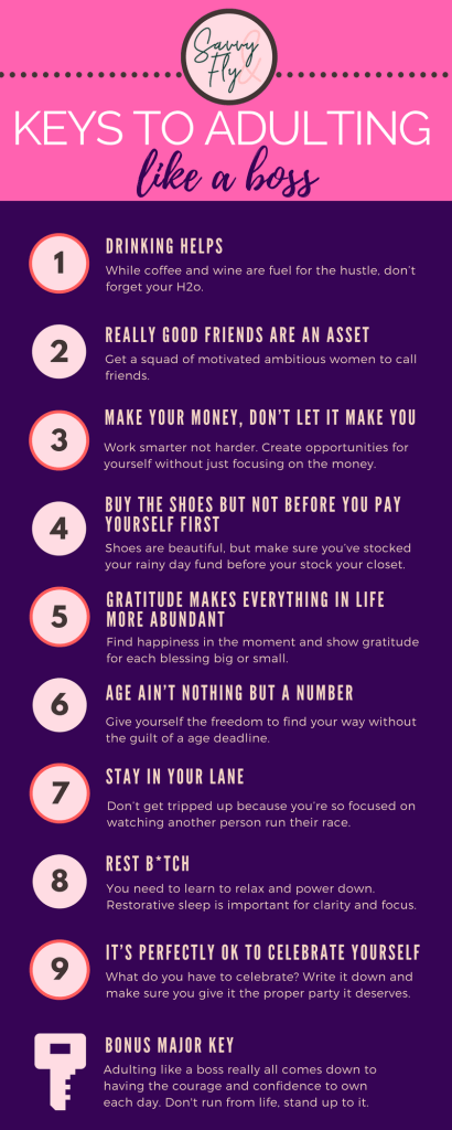 Adulting Like A Boss: Keys To Success For Women