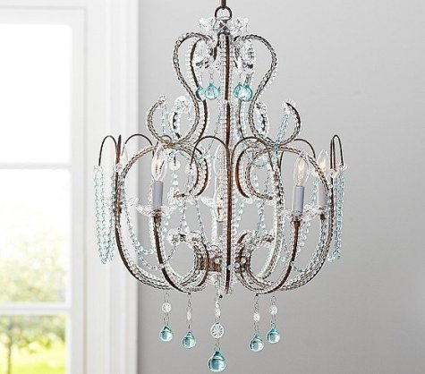 Paloma Beaded Chandelier ($400, PB Kids)