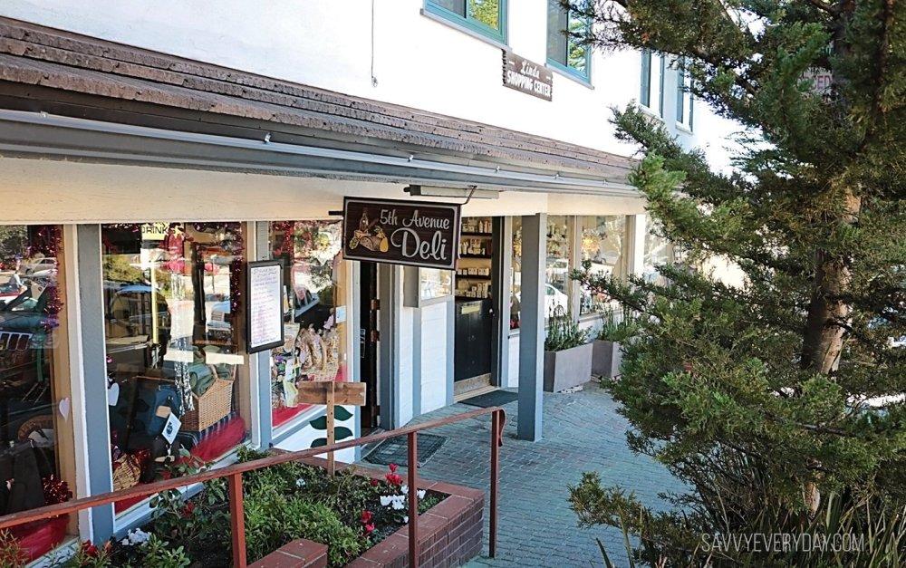 5th Avenue Deli in Carmel from outside