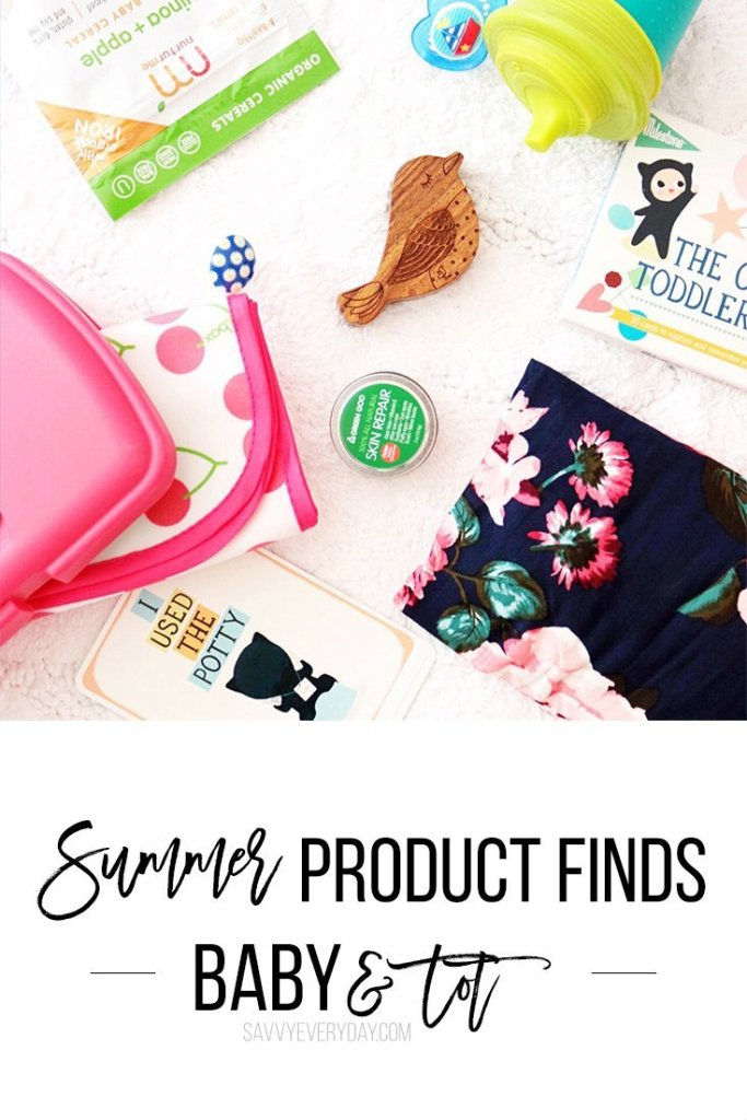 Summer Product Finds For Baby and tot