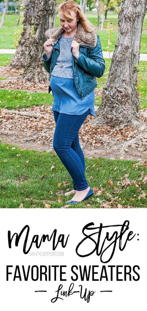 Mama Style Favorite Sweaters Link-up