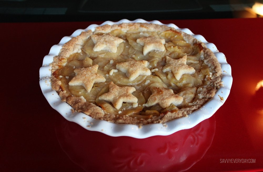 apple pie from above