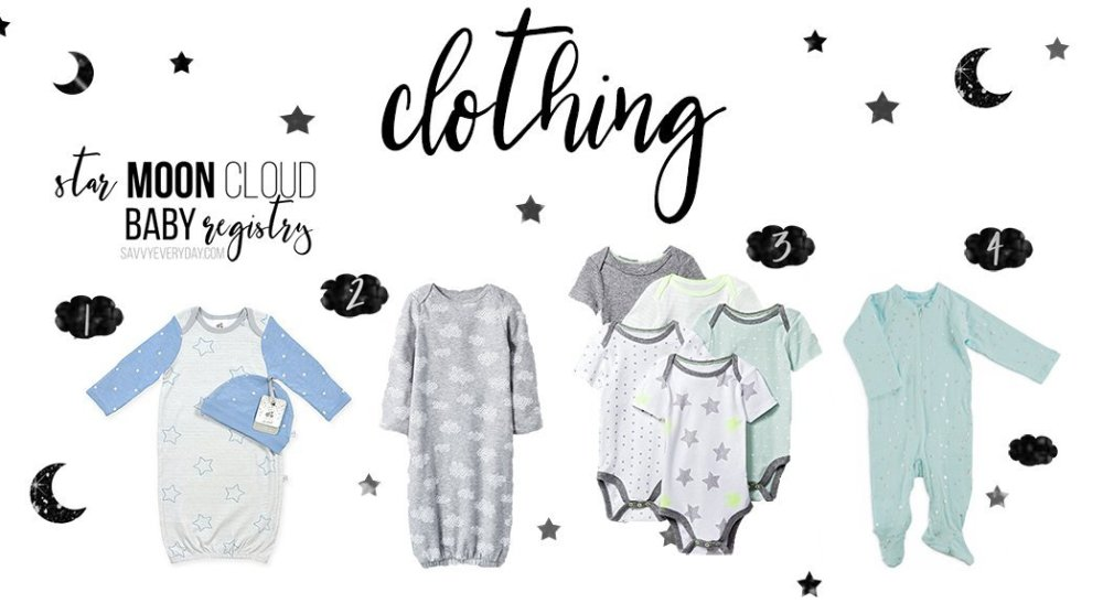 Star Registry Clothing List