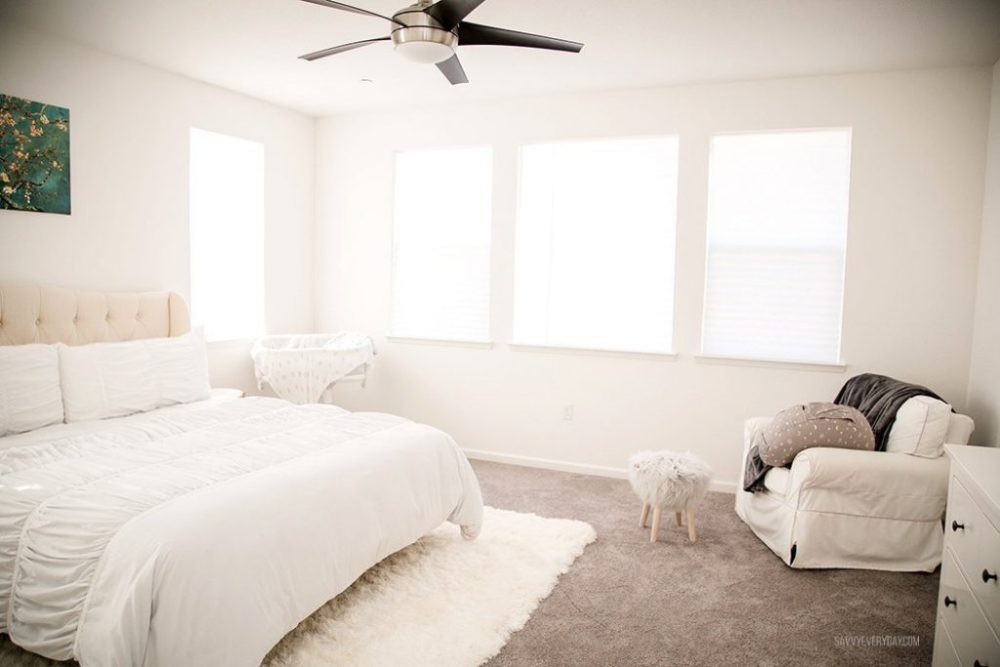 bright bedroom. Bright and Simple Master Bedroom   Savvy Every DaySavvy Every Day