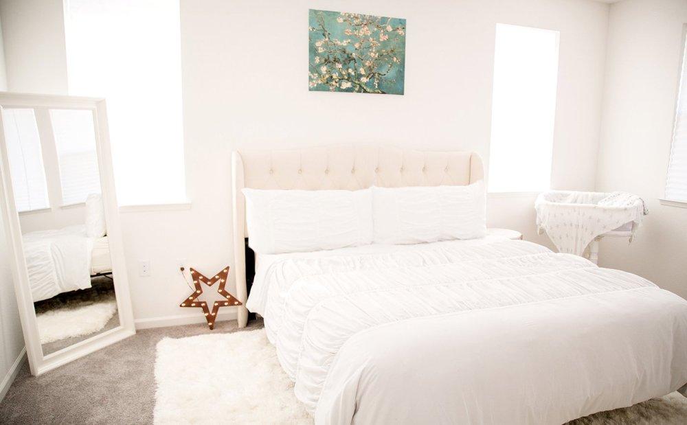 bright family bedroom