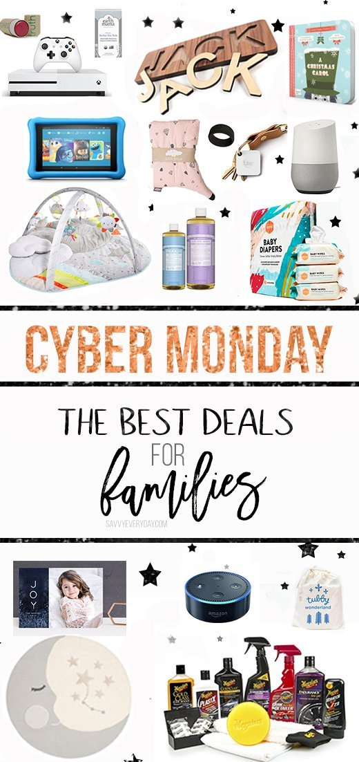We've rounded up the best once-a-year and amazing Cyber Monday deals for families that you won't want to miss. Be sure to check back for updates!