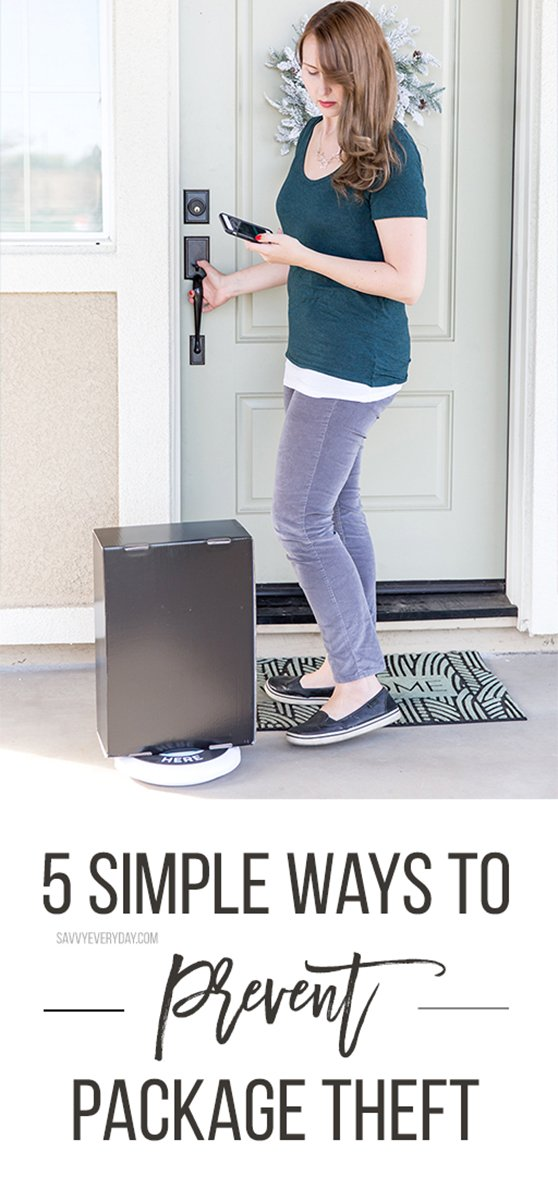 (AD) Residential package theft is abig problem, but I've learned a few ways to prevent it that should help your family too! keep reading to learn how.