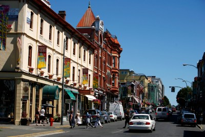 Downtown Victoria BC