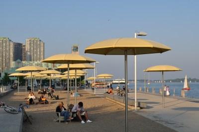 Sugar Beach Toronto Canada