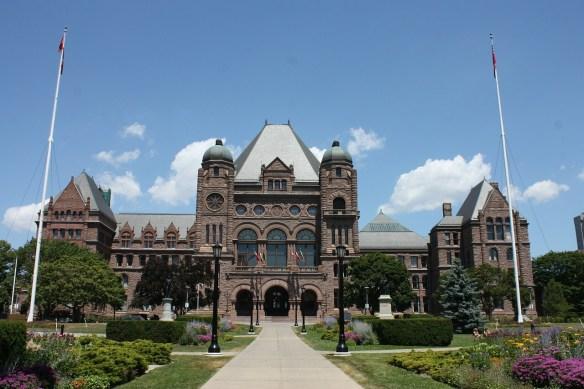 Queens Park, Toronto, Ontario Canada