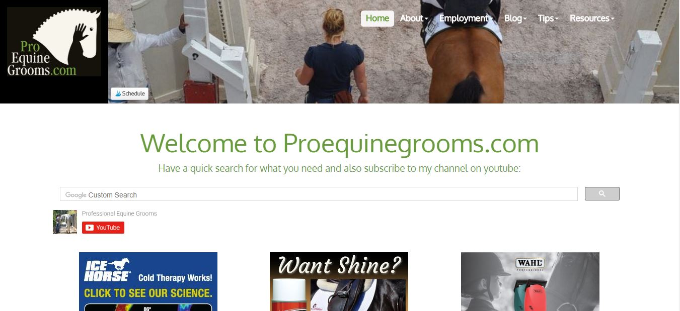 Pro Equine Grooms Blog