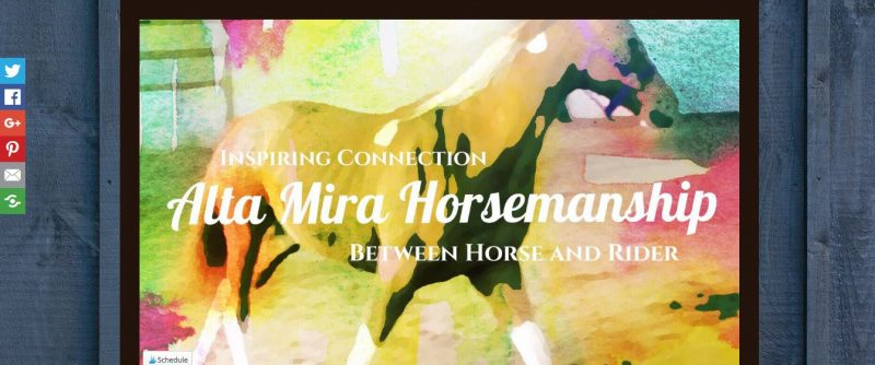 Alta Mira Horsemanship - Top Equestrian and Horse Blogs to Follow - 2019