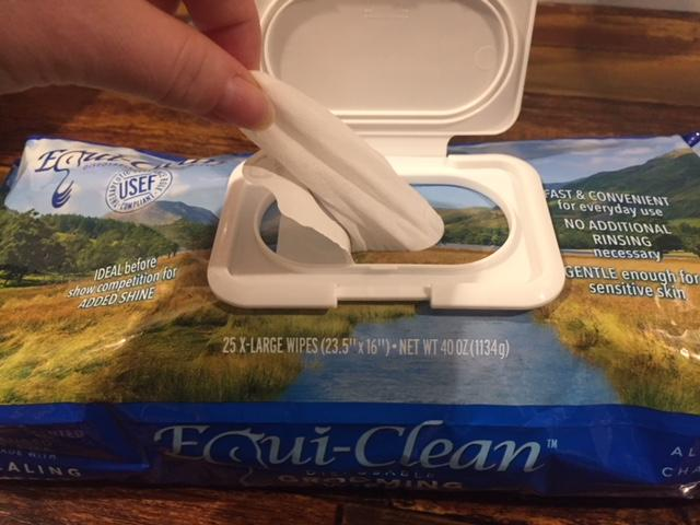Equi-Clean Horse Grooming Wipes - Product Review - Savvy Horsewoman