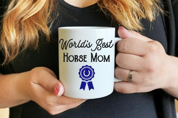 World's Best Horse Mom Gift Mug
