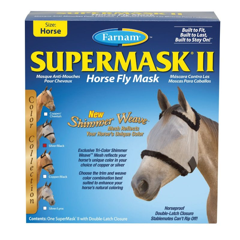 SuperMask II - Fly Protection for Horses