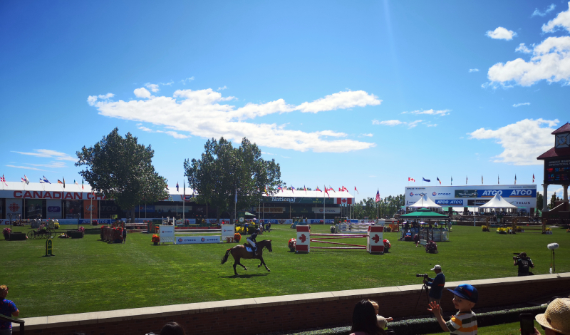 equestrian events - Spruce Meadows
