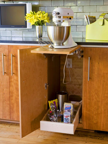 savvy housekeeping » 5 more clever kitchen storage ideas