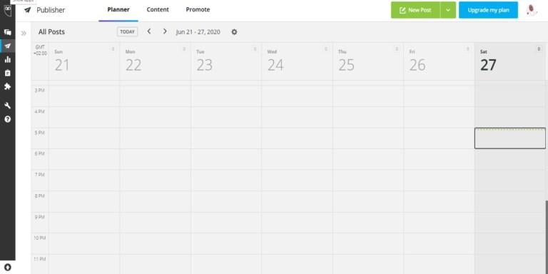 social media scheduling tools: Hootsuite