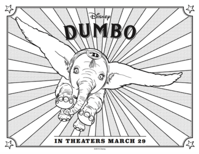 FREE Dumbo Coloring Pages Amp Activity Sheets Sneak Peek
