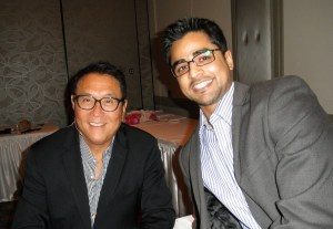 Jose and Robert Kiyosaki