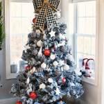 Farmhouse Buffalo Plaid Christmas Tree Savvy Saving Couple