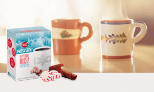 Free Sample of Nescafe Peppermint Mocha
