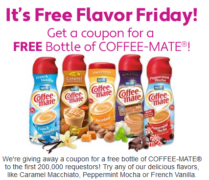 Free Coffee Creamer