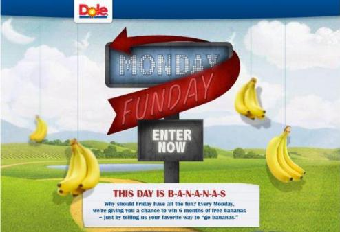 Enter to win 6 months of FREE Dole bananas