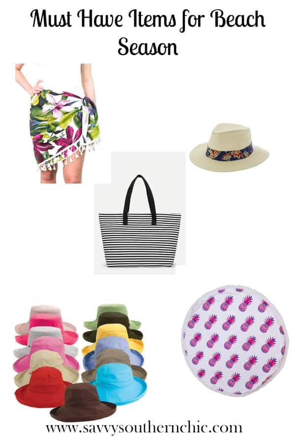 Must Have Items for Beach Season