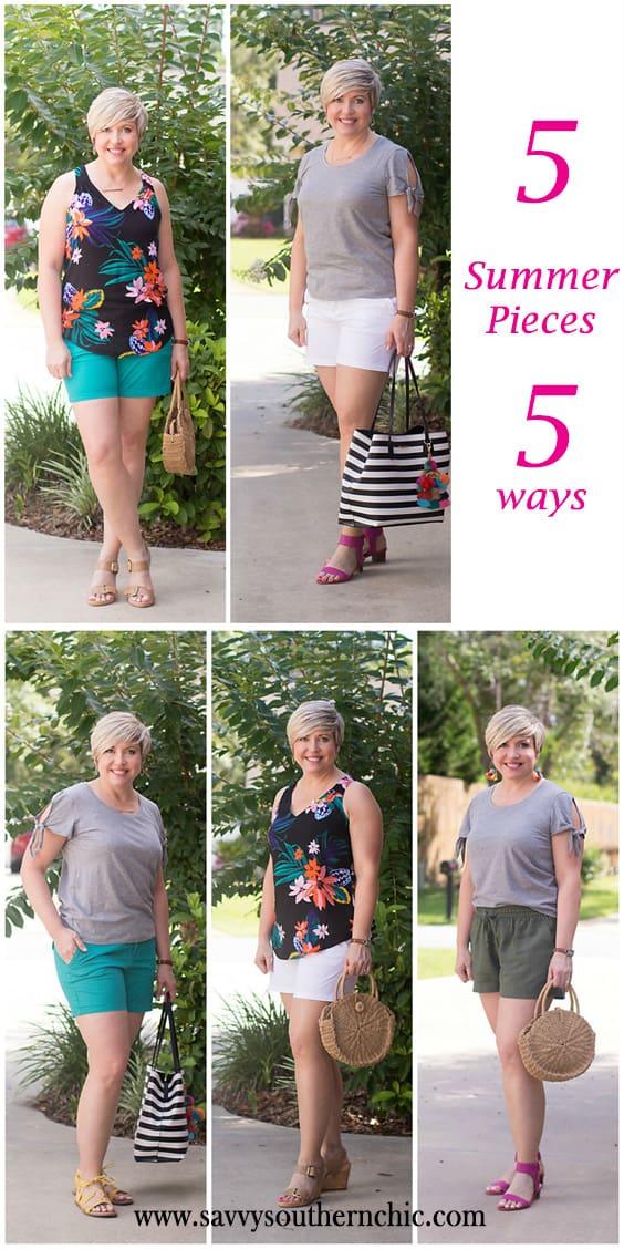 5 summer pieces 5 ways