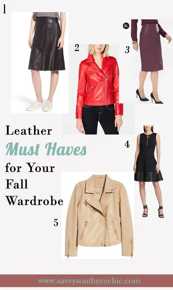 leather must haves
