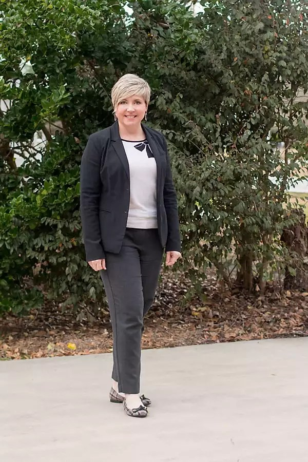 winter outfit for women office attire