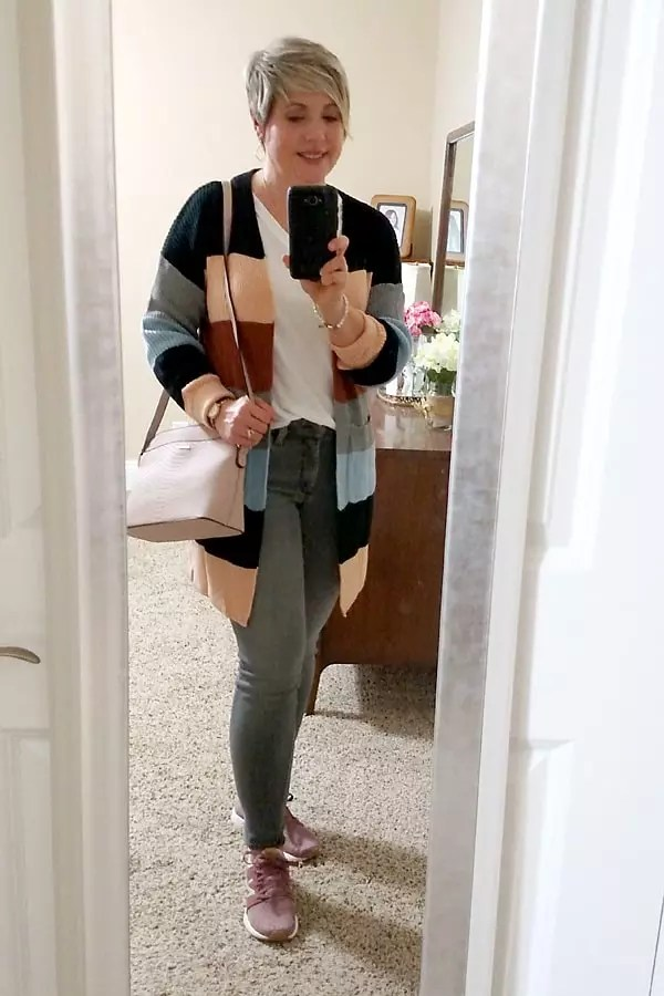 Amazon striped cardigan