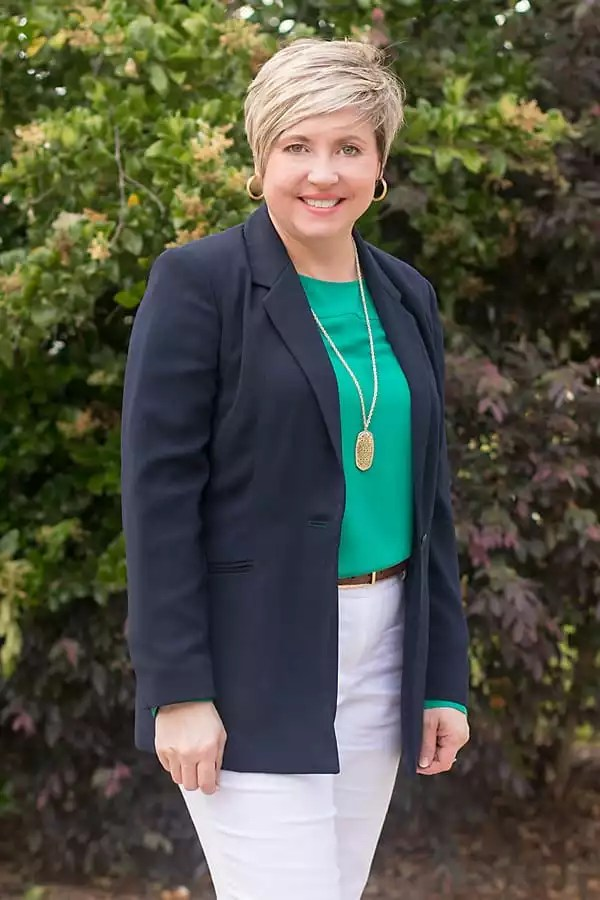 kelly green with navy