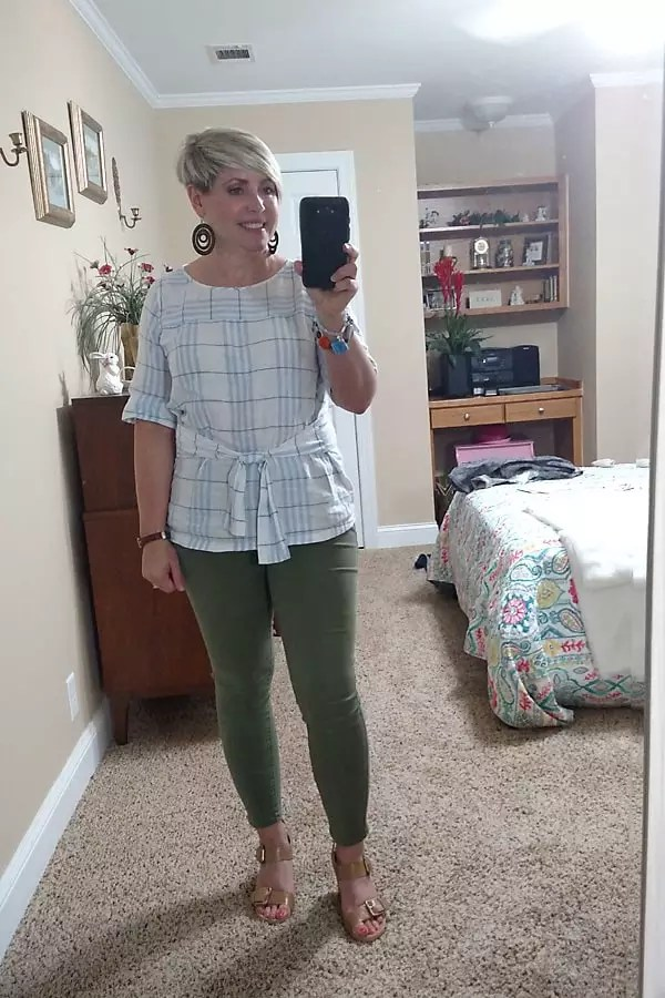 unworn challenge/ casual outfit