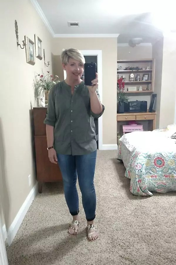 casual jeans outfit