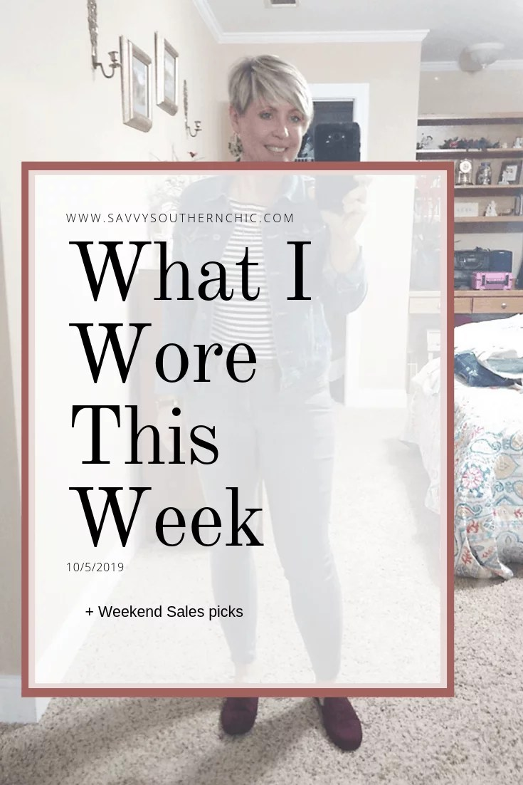 what I wore this week outfit post