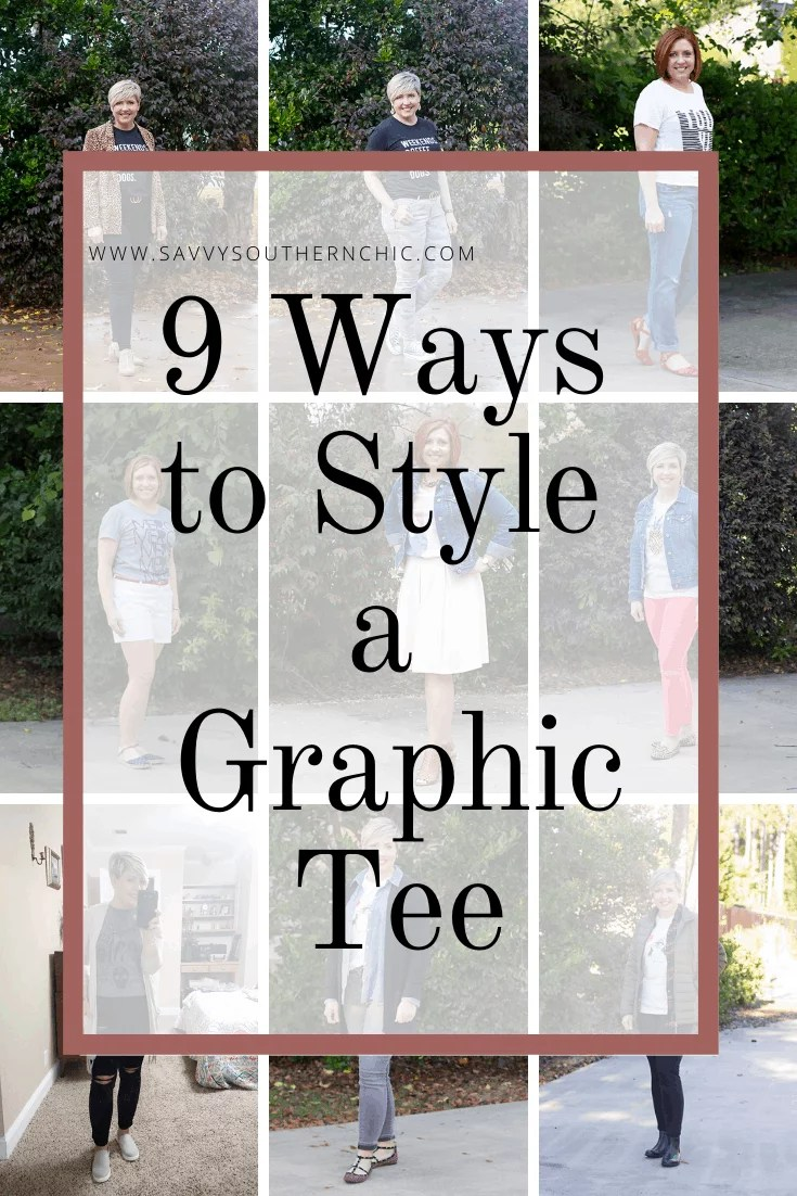 9 ways to style a graphic tee