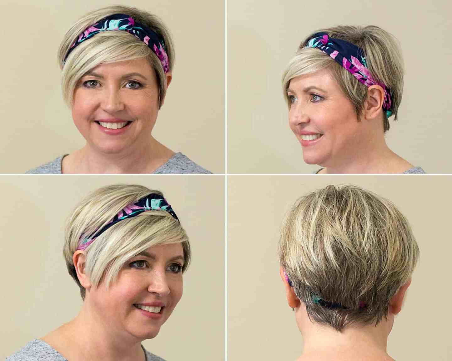 cloth floral headband