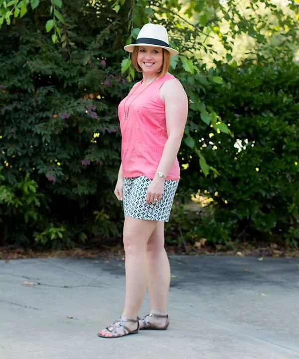 womens summer fedora outfit
