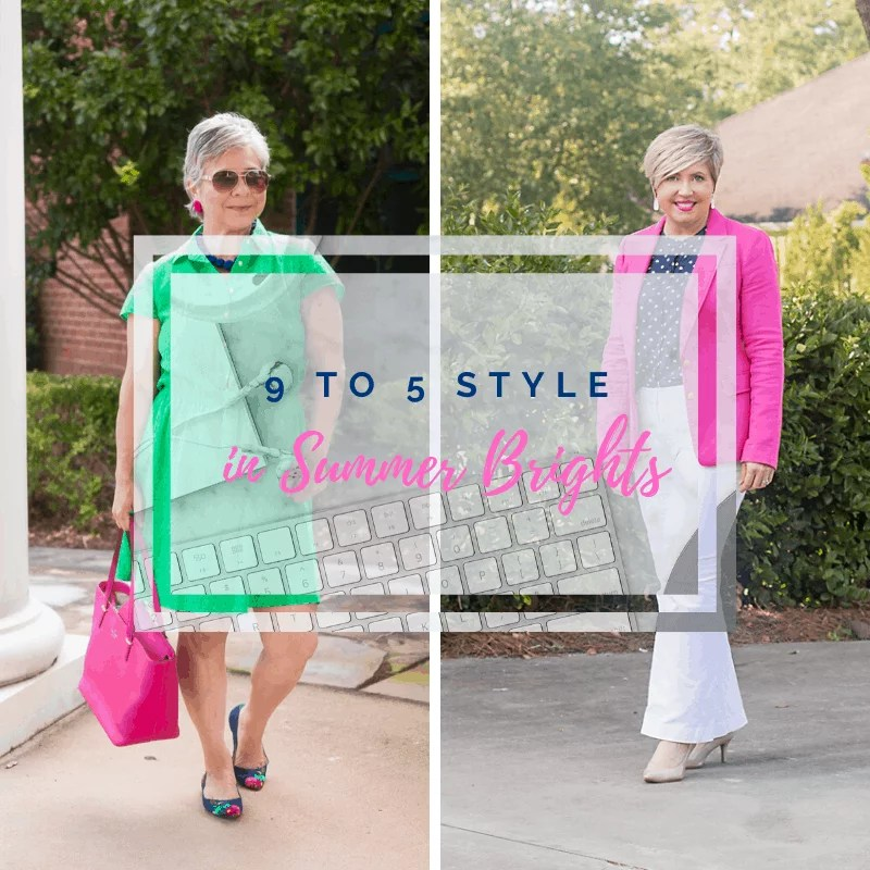 9 to 5 style summer brights