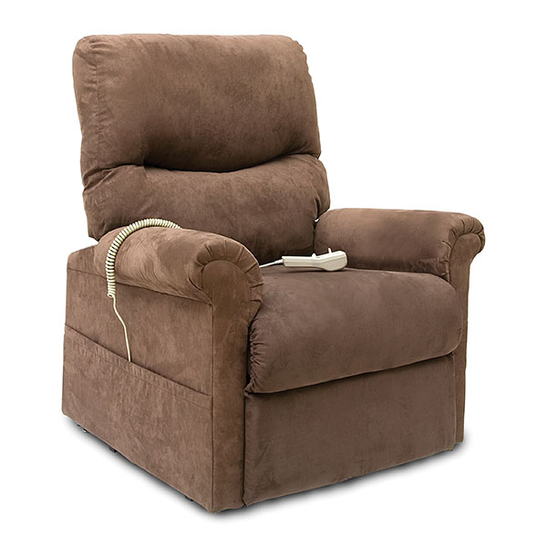 Pride LC-107 Lift Chair Cocoa Seated
