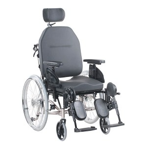 Tilt-in-Space Reclining Rehab Wheelchair