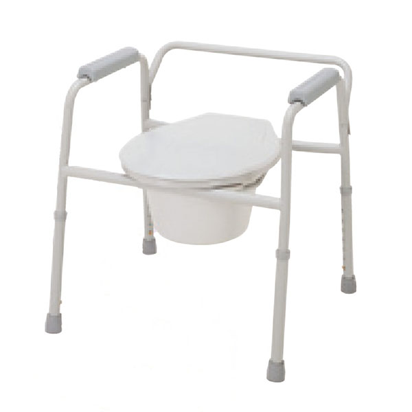 Deep Seat Steel Welded Commode