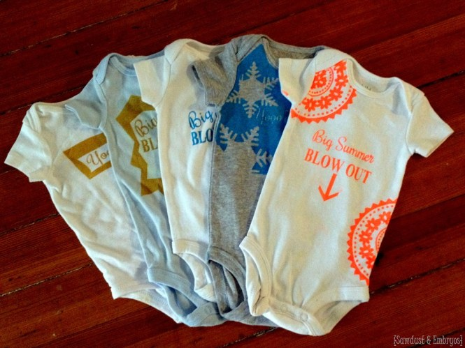 Decorate Onesies For A Baby Shower Activity Fun Craft Idea All Skill Levels