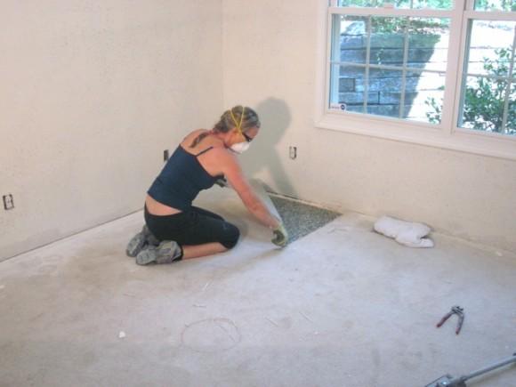 Removing Carpet (10)